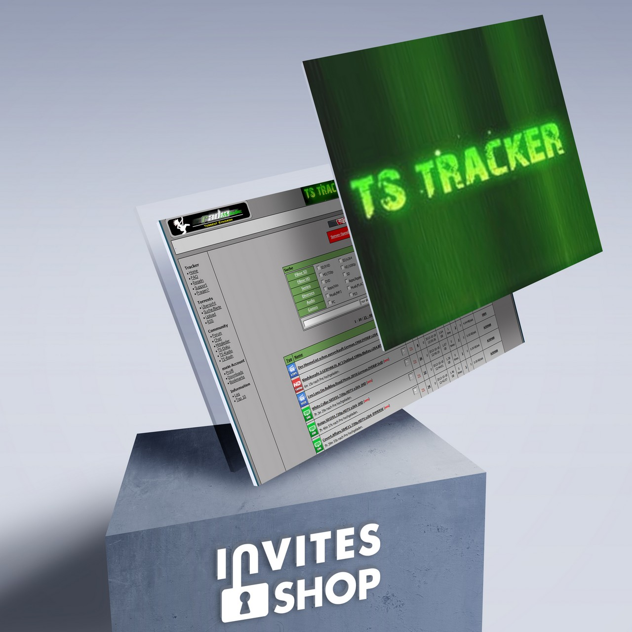 buy ts-tracker org invite or account