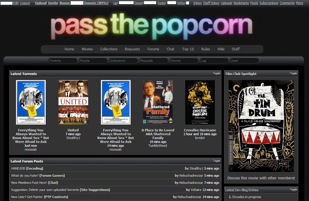 Buy Passthepopcorn Me Invite Or Account Invites Shop Com